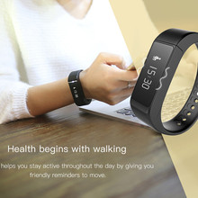FLOVEME A18 watch font b Smartwatch b font Band Sport Bracelet Wristband Bluetooth 4 0 Pedometer