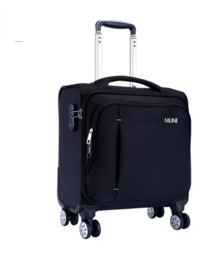 Oxford Suitcase Cabin Boarding Case Spinner Suitcase Men Travel Rolling Luggage Bag On Wheels Baggage Trolley  Wheeled Suitcase