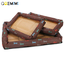 New Arrial Dog Summer Bed Cool Blanket Small Large Dog Bed House S-XXL Size Breathable Soft Puppy Pet Cushion small bunny s blue blanket new ed
