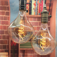 2PCS Lot Special G125 Retro Edison Style Soft Led Filament Lamp 4W Decorative Loft Industrial Led