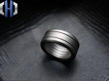 EDC Manual Matte Custom Thick Titanium Alloy Tactical Ring Finger