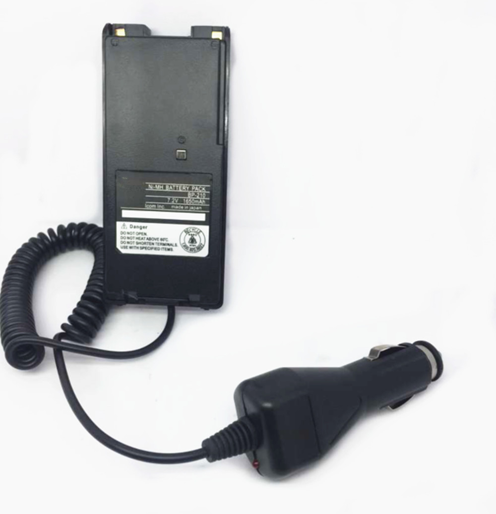 Laptop Orten 12v Vehicle Battery Charger For Icom V8 V82 U82 Two Way Radios