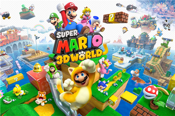 Super Mario Poster 3D World Video Game Wallpapers Custom Canvas Posters Super  Mario Wall Stickers Home. Super Mario Wallpaper For Walls