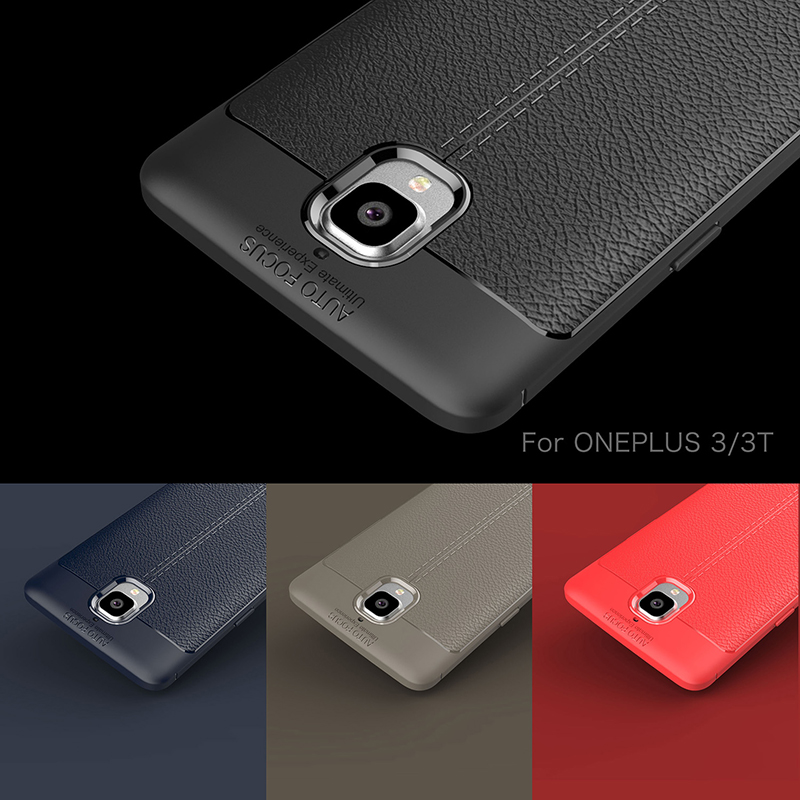 For OnePlus 3t Case Oneplus 3 Ultra-Thin Silicone Leather For Oneplus 3T Cover One plus 3 Three Phone case Top Quality Brand