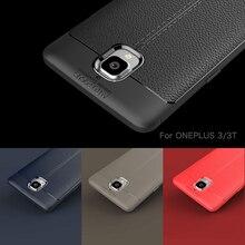 Для oneplus 3 т случае oneplus 3 ультра-тонкий силиконовый кожа для oneplus 3 т чехол One Plus 3 три чехол для телефона Одежда высшего качества бренд