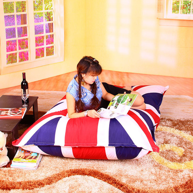 FREE SHIPPING Sofa Cover Outdoor UK And USA Flag Indoor Bean Bags Chair Via  China Post