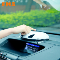 FMS Car Air Purifier Fresh Air Ionizer Oxygen Bar 12V Vehicle Power Remove Formaldehyde Cigarette Smoke Odor Smart Selfcleaning