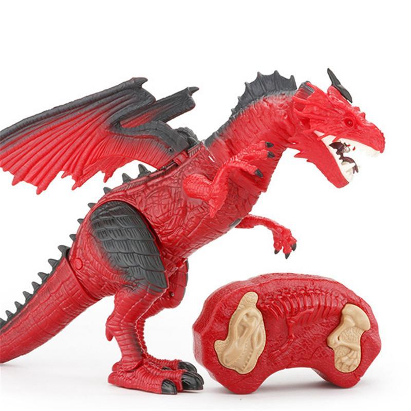 Intelligent Modèle Animal Jouet Dinosaure Jet De Télécommande Dinosaure Jouet Flamme Modèle Pour Enfants Cadeau