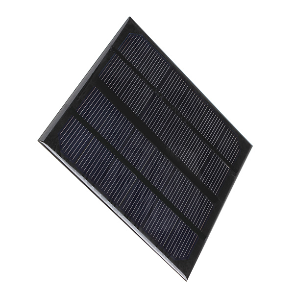 3W 6V Epoxy Solar Panel Solar Cell Panel DIY For Battery Cell Phone Chargers Portable Solar Cell