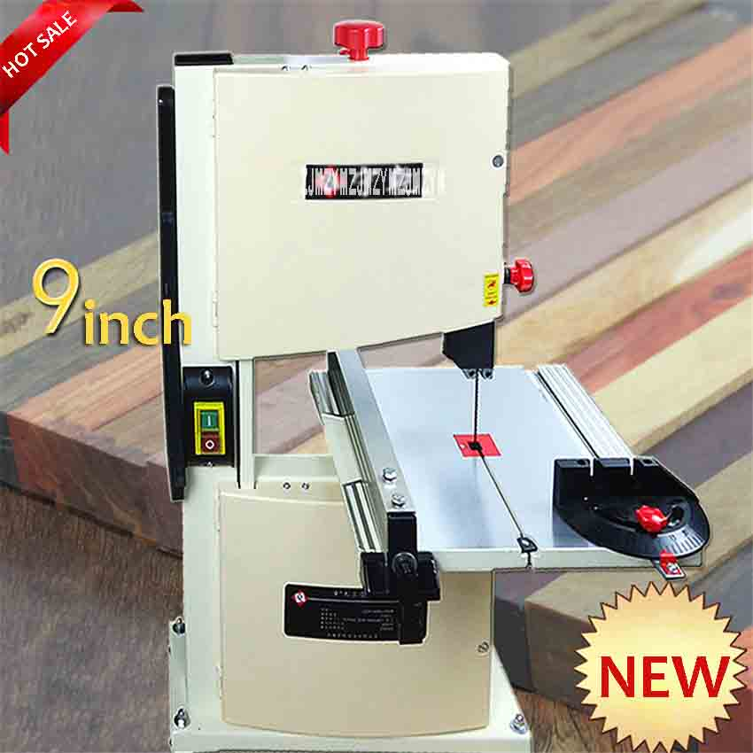 New Multifunctional Woodworking Band-Sawing Machine Household Buddha Bead Cutting Machine 9-inch Band Saw Machine 220V/50HZ 350W 550w 10 inch band sawing machine s0256 band saw joinery sawing machine