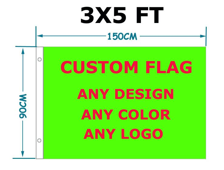 free shipping high quality Custom Flag 90 x 150 cm Polyester Customize Flags And Banners For Sport Outdoor Star and Stripe