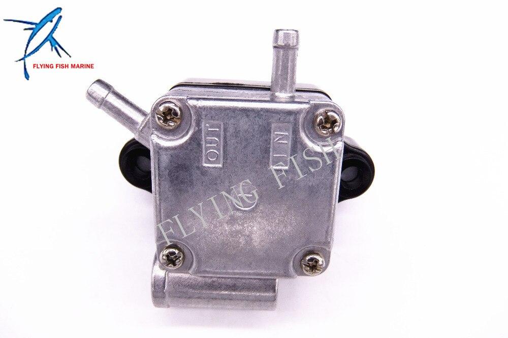 6AH 24410 00 6AH 24410 Boat Engine Fuel Pump Assy for Yamaha 20hp F20 F20B 4