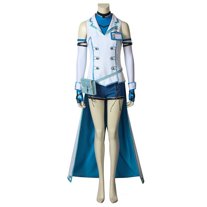 Game Dead or Alive 6 Costume NICO Cosplay Jacket Fancy Dress Uniform Rem Sexy Adult Women Girls Halloween Outfit Custom Made