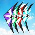 Alta Qualidade 1.8 m/70 polegadas Dual Linha Profissional Delta Stunt Kite Poder Kite Com Ferramentas Vôo Do Esporte Ao Ar Livre praia e da Praça