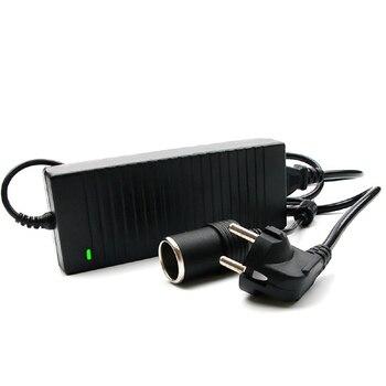EU Stecker Europa Adapter 120W 12V Hause Auto Power 10A AC Zu DC Power Spannung Konverter 100- 220V 240V Auto Elektronische Zubehör
