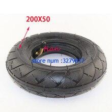 """(8 """"X 2"""") 200X50 (8 дюймов) шина, подходящая для электрического газового скутера и электрического скутера (внутренняя трубка входит в комплект) колесо для коляски"""