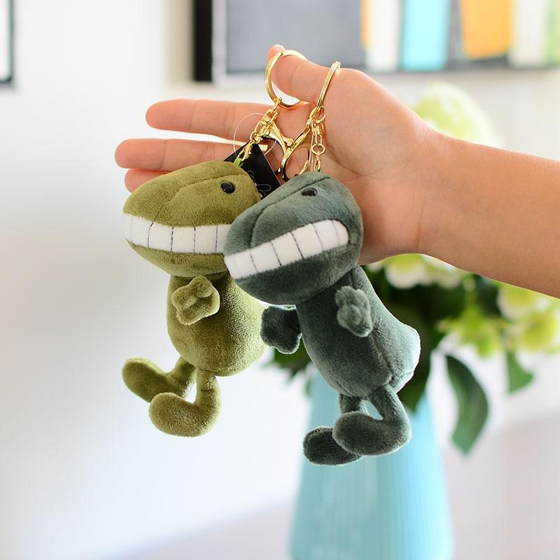 Милый мультяшный зуб крокодил животное плюшевая игрушка брелок для рюкзака брелок 15 см маленький подарок
