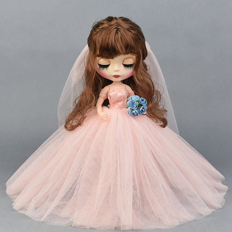 1pc Very Beautiful New Clothes Pretty Dress Doll Accessory For Licca Doll Blyth Doll
