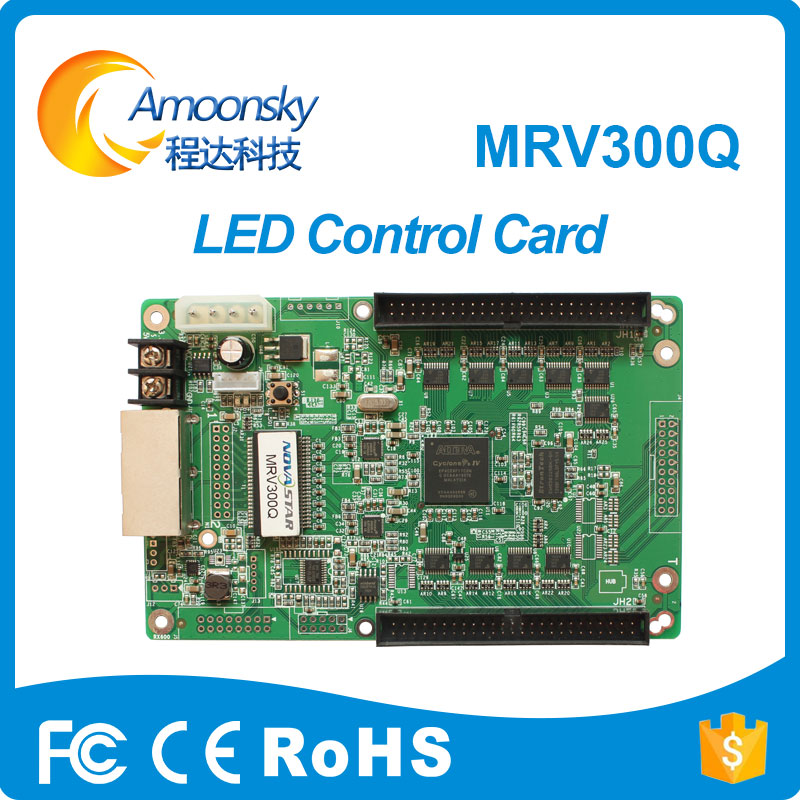 mrv300q mrv300 novastar receiver configuration file read back rgb led controller time programmable led controller ...