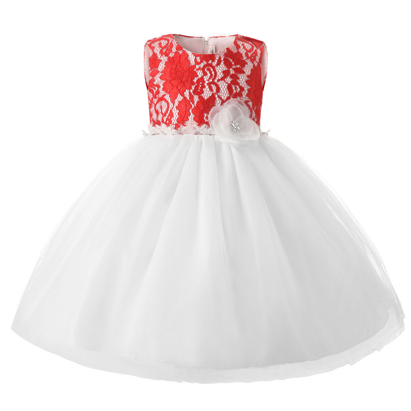 Newborn Baby Baptism Dresses Lace Christening Gown Toddler Girl Wedding Dress 1 Year Birthday Infant Kids Party Wear In From Mother