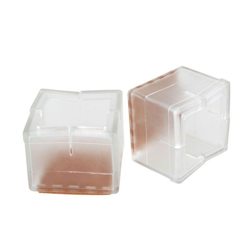 NEUE 8 teile/satz Platz Stuhl Bein Caps Gummi Füße Protector Pads Möbel Tisch Abdeckungen