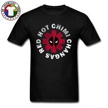 Hot Chili Peppers Deadpool T Shirts Dead Pool Mens Hip Hop Rock Rap Band Popular Shirt Fashion Clothing Summer Sweatshirt