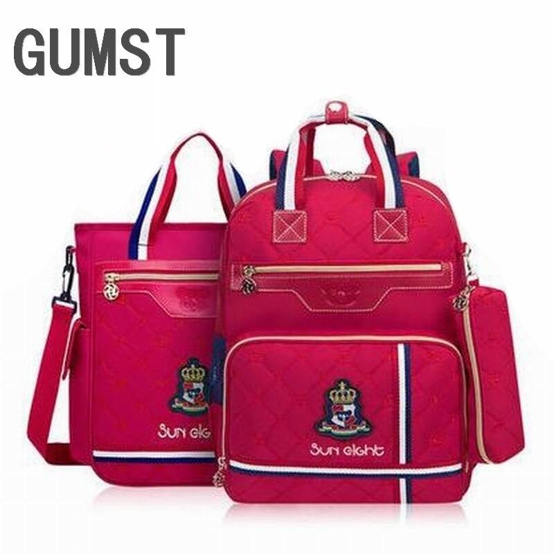 Nouveau sac à dos d'école pour enfants filles d'école sac à dos étanche pour enfants sac d'école pour nouveaux sacs Termool pour garçons/filles