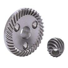 Темно-серая спиральная коническая шестерня для угловой шлифовальной машины Makita 9523