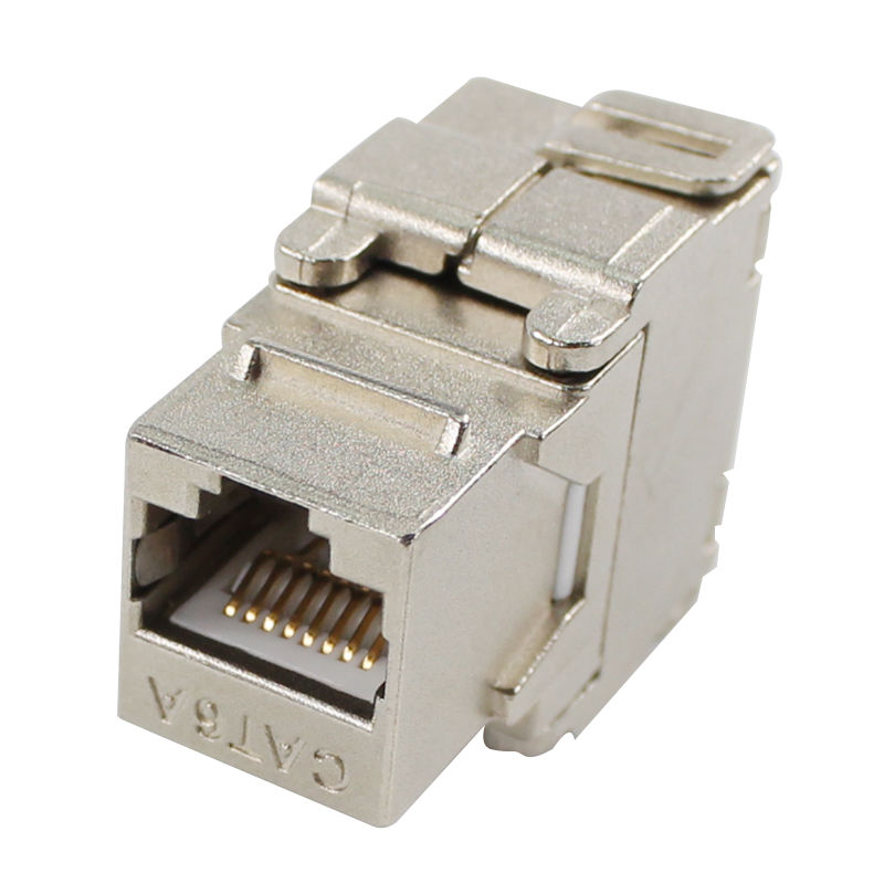 BELNET Network RJ45 CAT6 Shielded Keystone Jack RJ45 to LSA Tool Free connection FTP rj45 connector In-Line Couplers