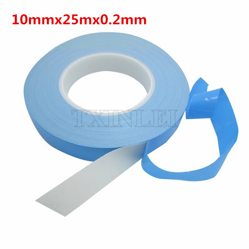10mmx25mx0 2mm Transfer Tape Double Sided Thermal