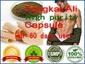 60 pcs para 60 dias suplemento TONGKAT ali do sexo para os homens & women eficaz aumentar a libido produto Orgânico Malásia Tongkat ali cápsula