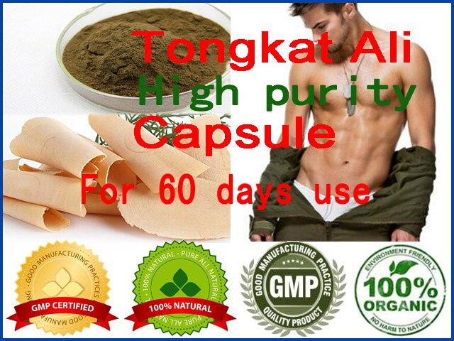 60pcs for 60 days TONGKAT ALI sex supplement for men & women effective libido boost product Organic Malaysia Tongkat Ali Capsule настольная лампа mantra ninette antique bras арт 1937