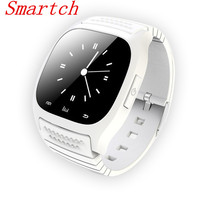 Smartch M26 Bluetooth Smart Watch Wristwatch Smartwatch With Dial SMS Remind For Android Samsung Smartphone