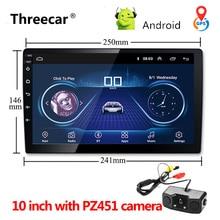 """Universale 9 """"10"""" Auto Android 8.1 Lettore Multimediale Quad Core 2 din radio di navigazione di GPS Wifi Bluetooth Audio car stereo 2din"""