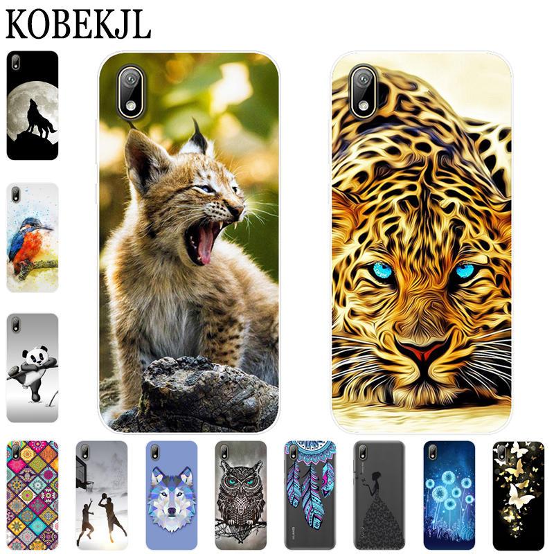 Soft Case Huawei Y5 2019 Case Cartoon TPU Silicone Back Cover Phone Case For Huawei Y5 2019 Y 5 Y52019 AMN-LX9 AMN-LX2 AMN-LX1