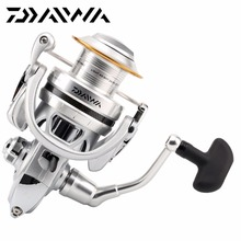 Original  DAIWA Brand CALDIA 2500 3000 3500 4000 Super Light Spinning Fishing Reel 6BB 4.8:1 Two Spool Salt Fresh Water Reel