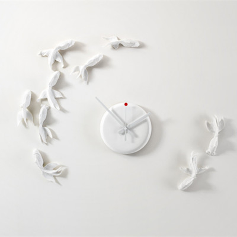 New Goldfish Clock Modern Design Wall Clock Model Handmade High Quality Gift Home Decoration Aime Best Gift Toys For Friend набор салатников gift n home modern 2 шт bow 305050g