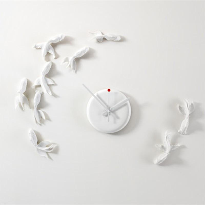 New Goldfish Clock Modern Design Wall Clock Model Handmade High Quality Gift Home Decoration Aime Best Gift Toys For Friend go goldfish