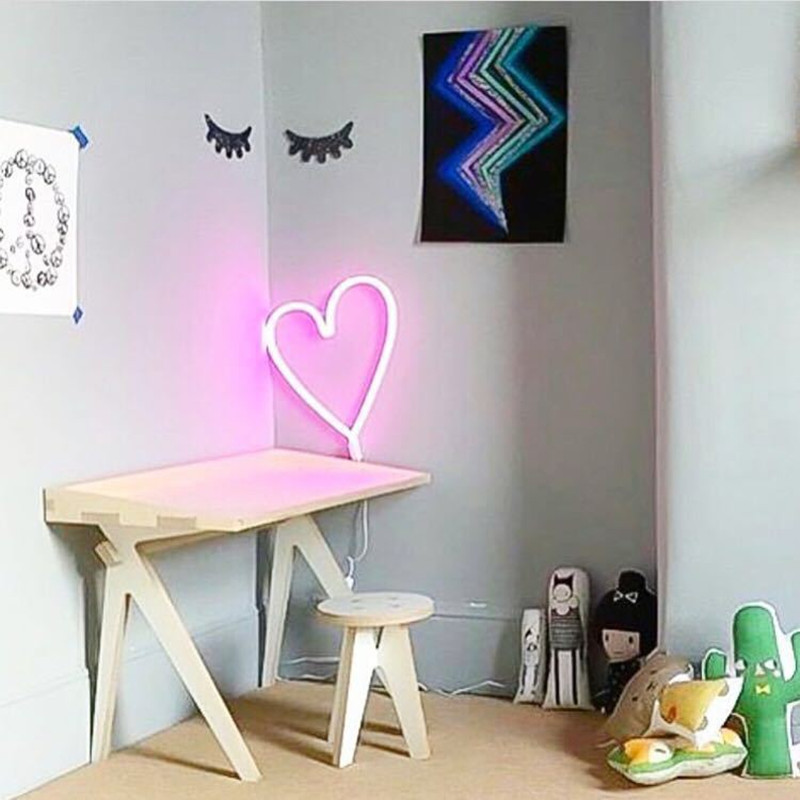 2017 INS Hot LED Heart Cloud Neon Sign Led Light Night Lamp For ...