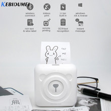 Kebidu Portable Thermal Printer Bluetooth Mini Nirkabel POS Thermal Gambar Foto Printer untuk Android IOS Ponsel(China)