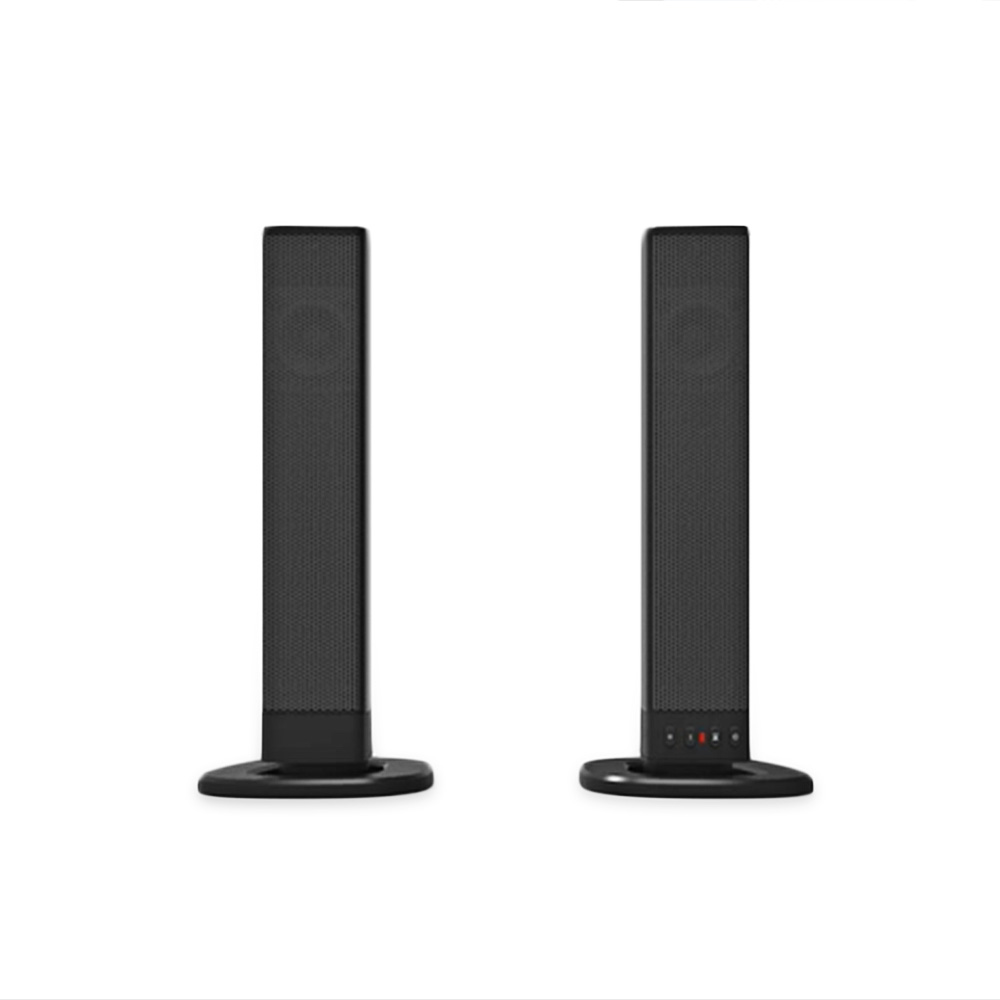 Original Shunpad Detachable Bluetooth Speaker Television Subwoofer Sound Two Channels Stereo Loudspeaker With AUX In LED Light shunpad bs 28 wireless bluetooth sound bar speaker television audio fiber coaxial television soundbar sound portable speaker