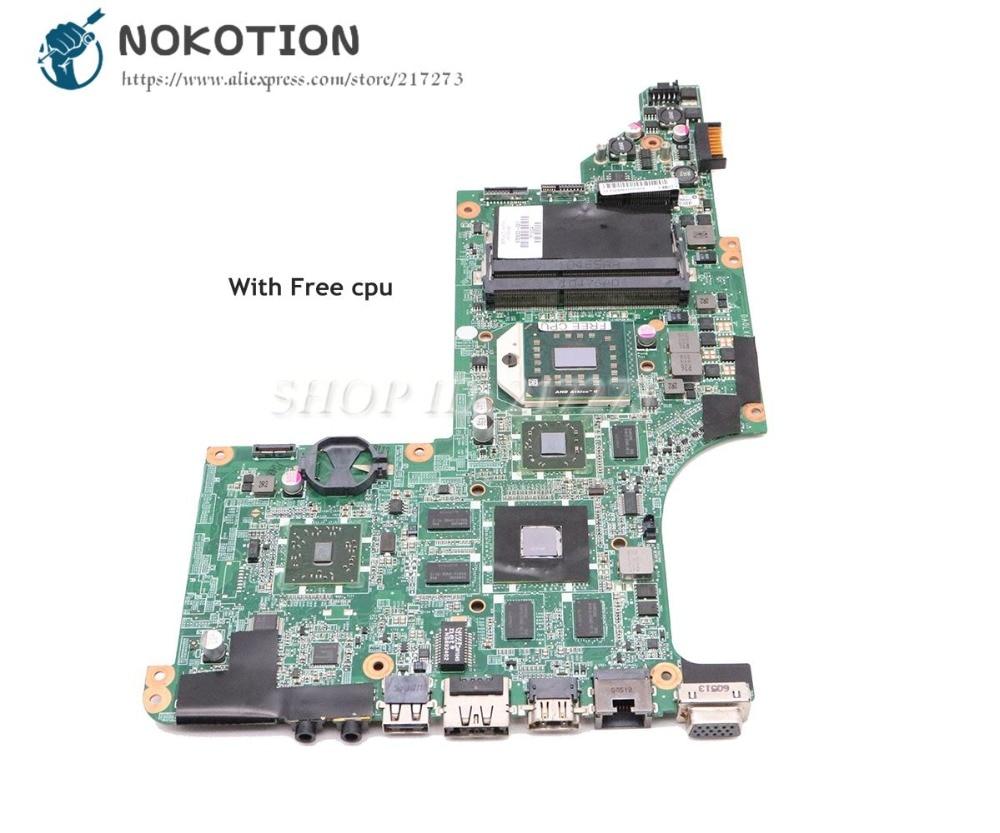 NOKOTION For HP Pavilion DV7-4000 Laptop Motherboard Socket S1 HD5650 1GB Free CPU 615687-001 605498-001 DA0LX8MB6D1NOKOTION For HP Pavilion DV7-4000 Laptop Motherboard Socket S1 HD5650 1GB Free CPU 615687-001 605498-001 DA0LX8MB6D1