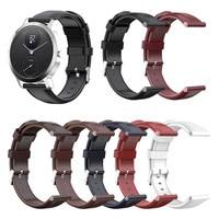 18mm 20mm Echtes Leder Armband Strap Für Nokia STAHL HR 36MM 40MM Ersatz Uhr Band Schnell release Armband Uhrenarmbänder
