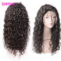 Malaysian Virgin Hair Body Curly Full Lace Human Hair Wigs Natural Hairline Bleached Knots Lace Front Human Hair wigs