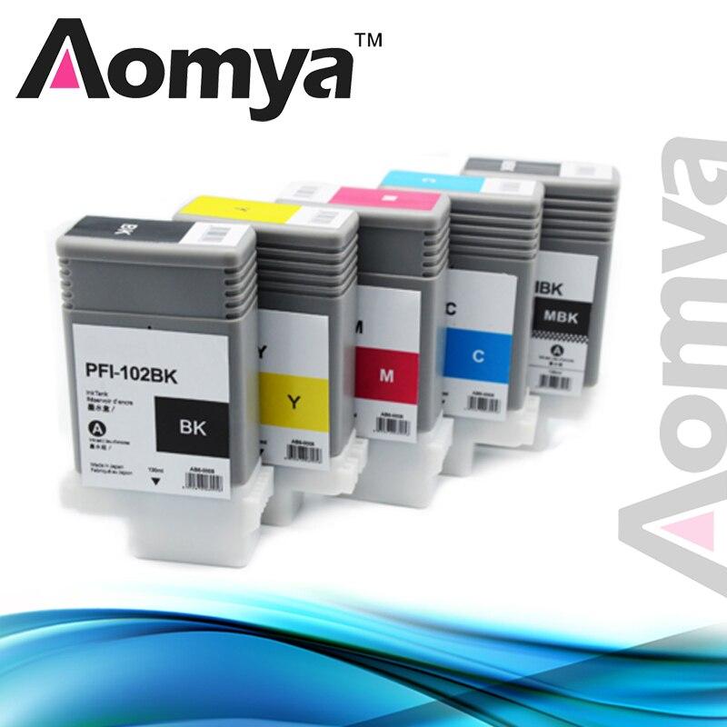 PFI-102 pfi102 Wide Format Cartridge for Canon iPF 700/710/720/760/650/655/750/755/600/610/605/500/510 compatible black developer powder for toshiba e studio 520 523 555 600 603 655 720 723 755 850 853 855