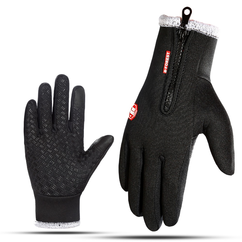 -30 Warmer Winter Female Glove Touch Screen Waterproof Mitten Gloves Men Tactical No Finger Gloves For Outdoors Skiing