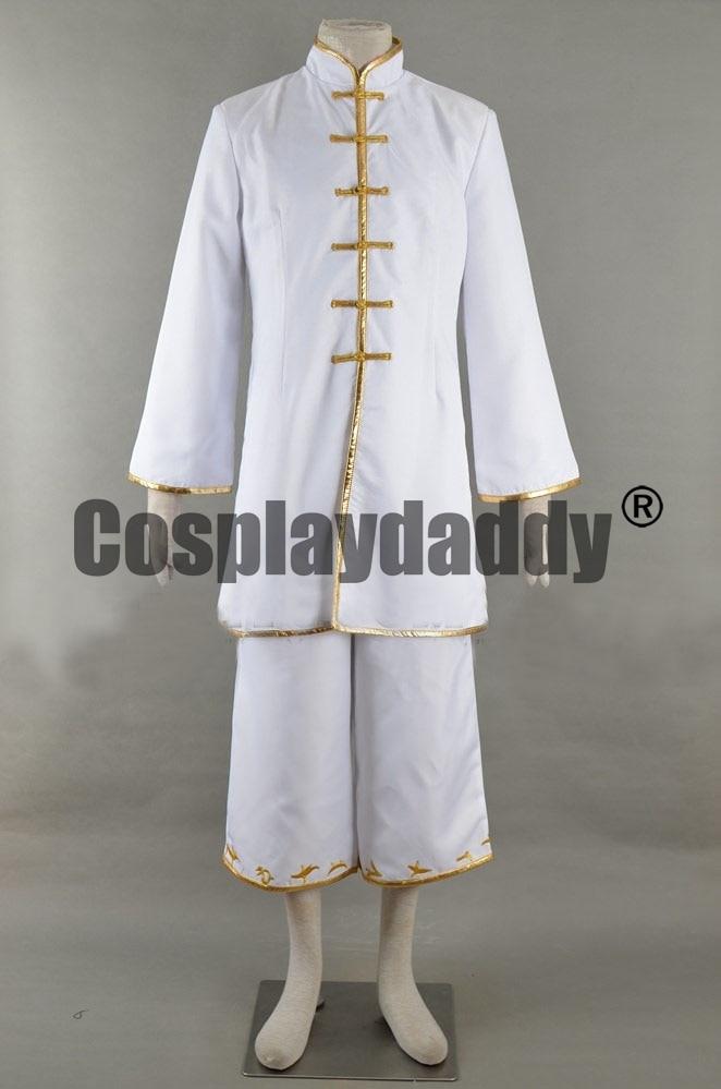 Food Wars: Shokugeki no Soma Terunori Kuga Cooking Outfit Cosplay Costume F006