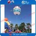 4 м высокой красочные надувные гелием воздушный шар/высокое качество рекламы гелием воздушный шар