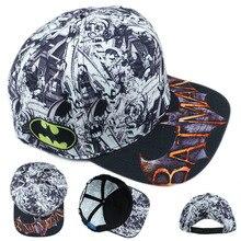 Süper kahraman Batman Şapka Pamuk Beyzbol Snapback Kapaklar Ayarlanabilir Hip  Hop Şapka Için Yetişkin Erkek Kız Cosplay Hediye S.. ac185960649