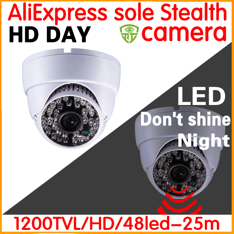 Thief Nowhere hide!HD Analog CCTV Camera 12000TVL Dome 3.6mm IRCUT Filter Night Vision30m Indoor security Color image home Video hd real 1 3cmos 1200tvl cctv analog camera security surveillance indoor dome 22leds infrared ircut night vision color home video